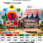 SYAIR SYDNEYNIGHT HARI INI 17 Juli 2021